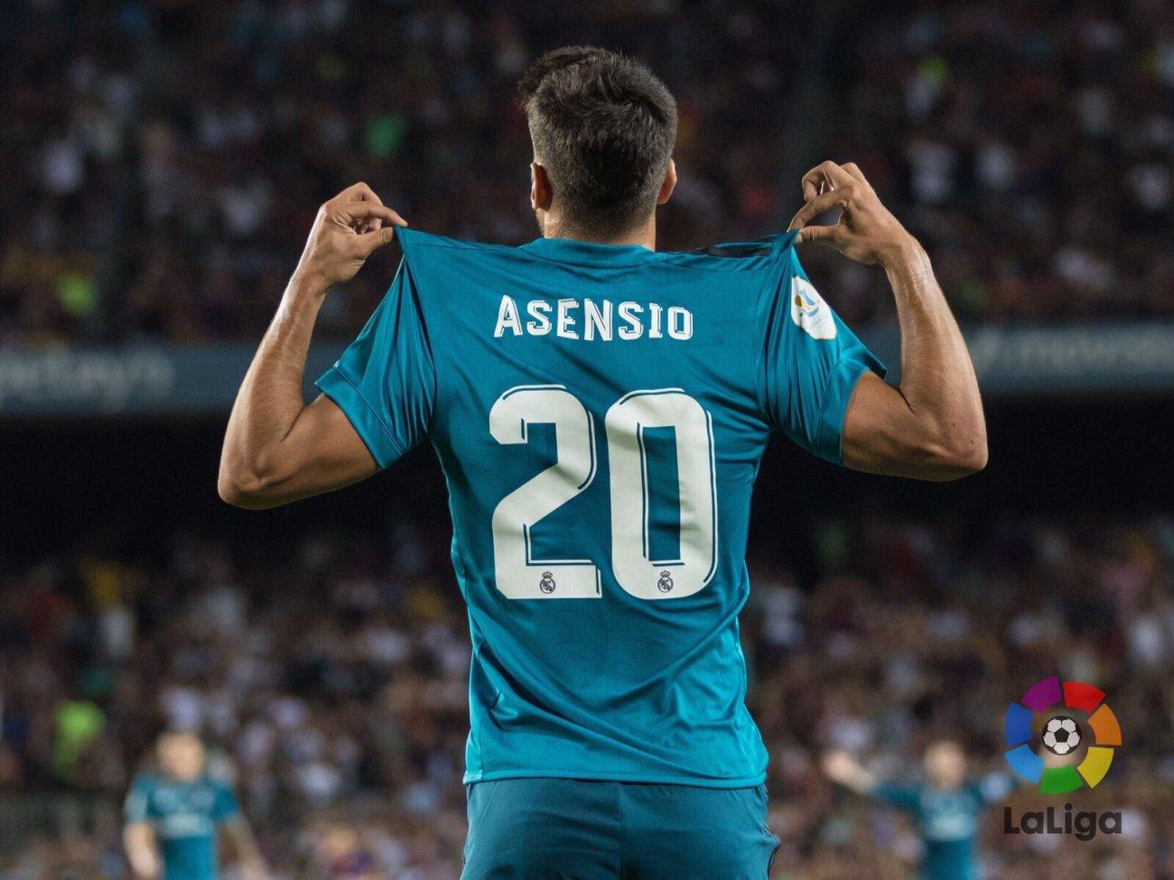 Asensio - supercopa