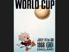 cartel copa del mundo 1966