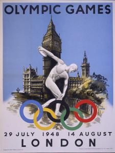 cartel JJOO 1948