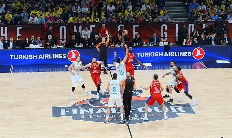 salto inicial - euroleague