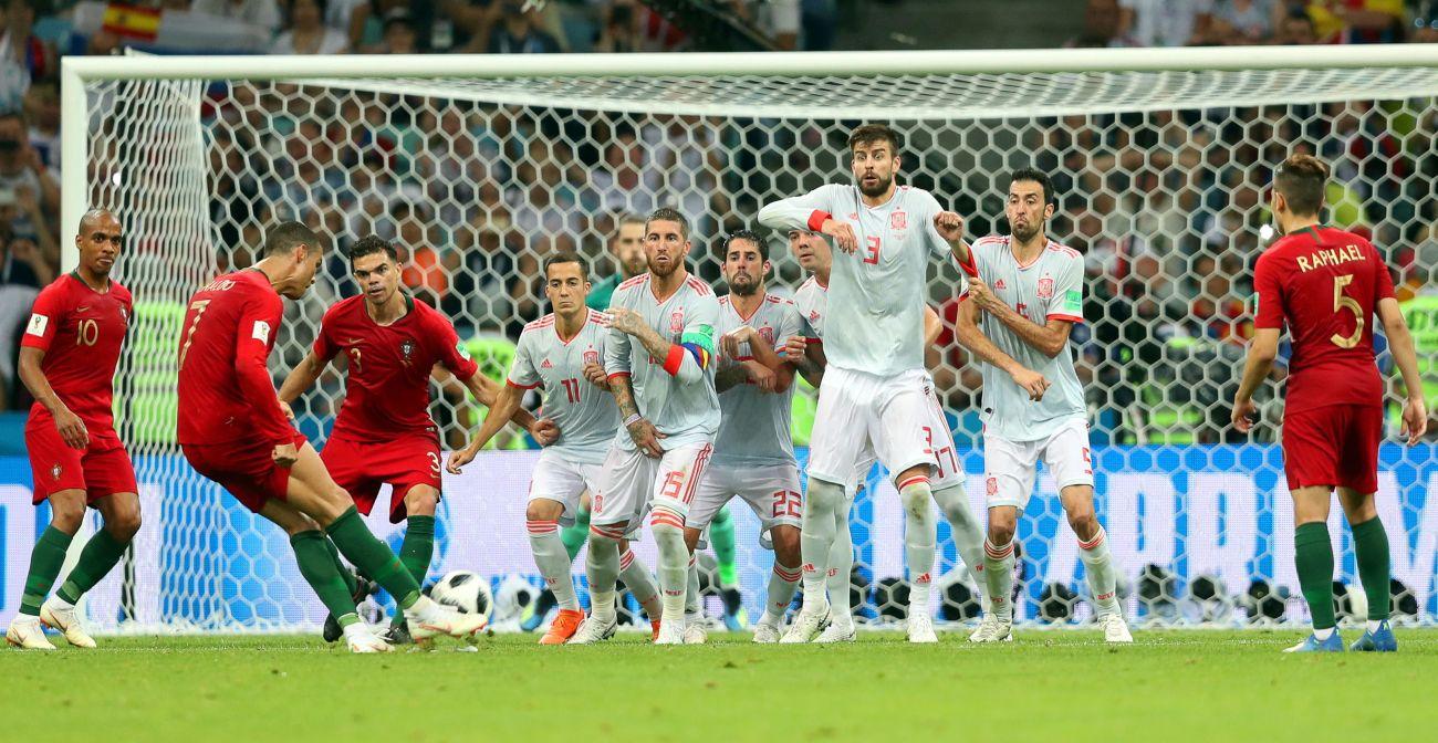 Group B Portugal vs Spain